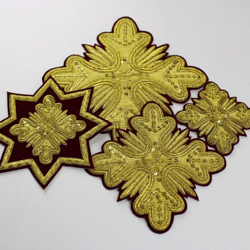 Σετ συρματερών ιερατικών σταυρών SI-0003